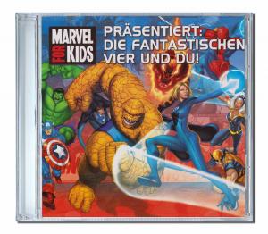 CD personnalisé enfant en Allemand die Fantastischenvier und du