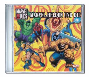 Cd personnalisé prénom héros Marvel en Allemand