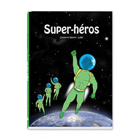 BD personnalisée pour les garçons sur les super héros