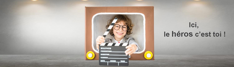 DVD personnalisé avec photo pour enfant