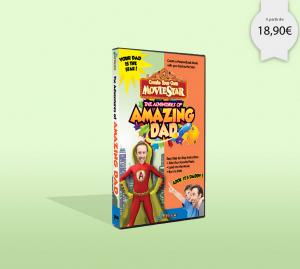 DVD personnalisé avec photo pour la fête des pères