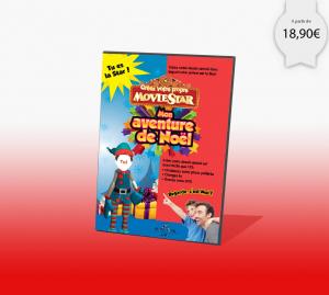 Dessin animé personnalisé de Noël pour une idée de cadeau originale