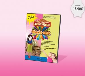 dvd personnalisé enfant sur Blanche Neige