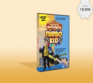 DVD personnalisé dont il est le super héros