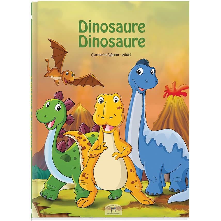 Histoire sur les dinosaures dont l'enfant est le héros