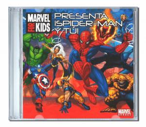Spiderman y tu album CD personnalisé enfant en Espagnol