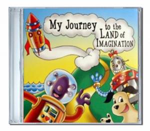 CD personnalisé enfant Land of imagination en Japonais