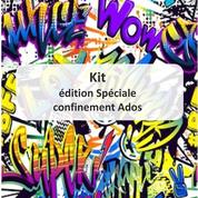 couverture kit avec idée d'activités pour les adolescents