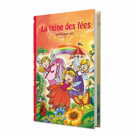 Livre personnalisé pour petite fille la reine des fées