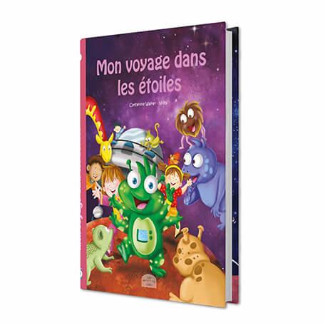 Livre personnalisé enfant mon voyage dans les étoiles
