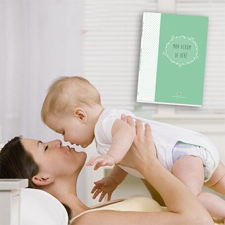 Album de bébé cadeau de naissance