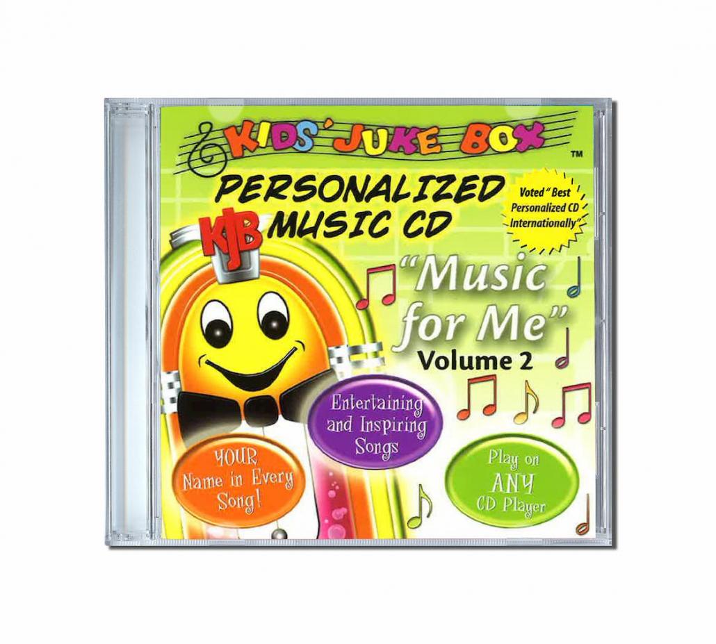 album de chansons personnalisées Music for me