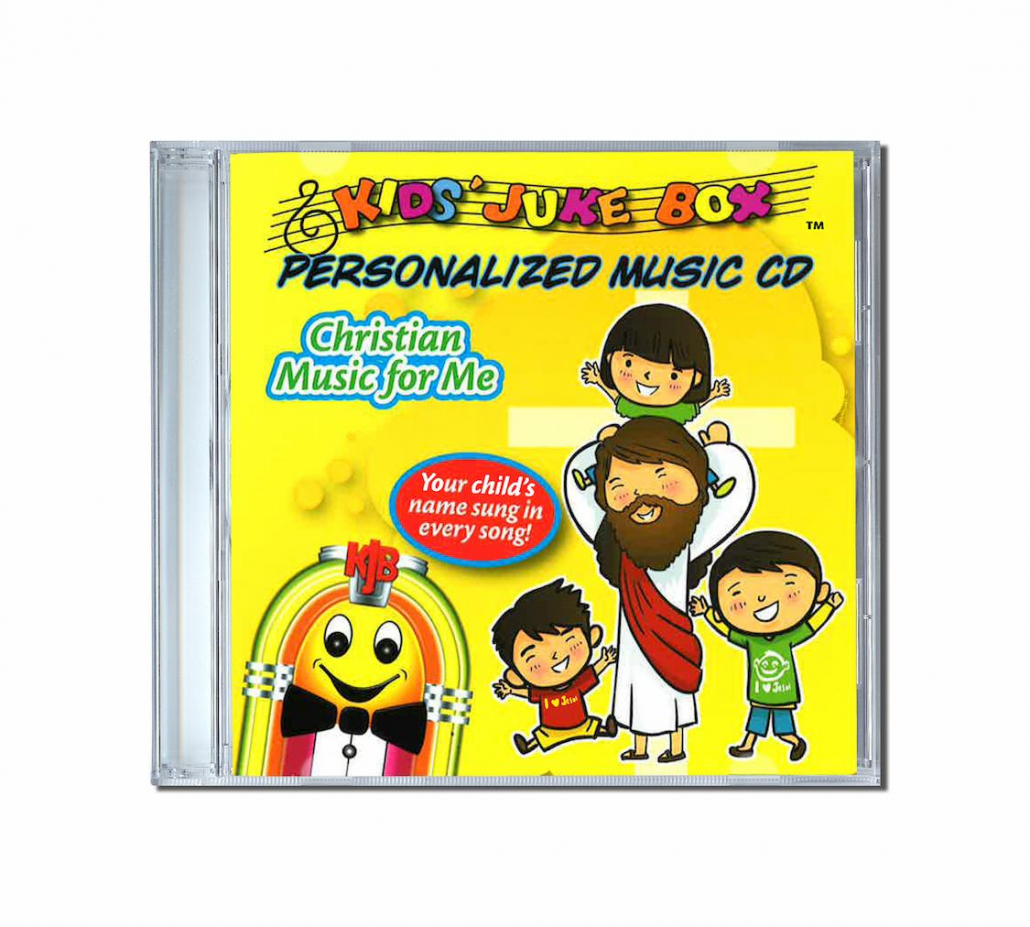 Album de chansons personnalisées en anglais Christian music for me