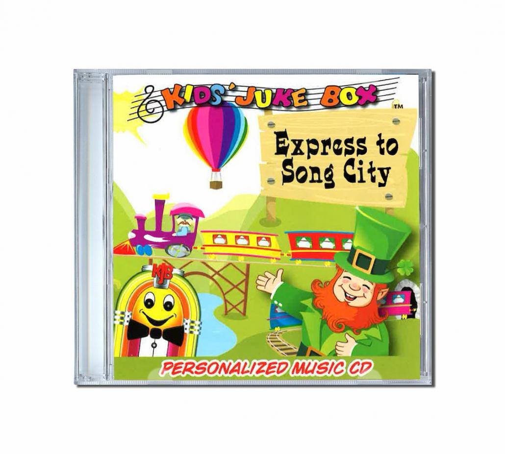 album de chansons personnalisées express to song city