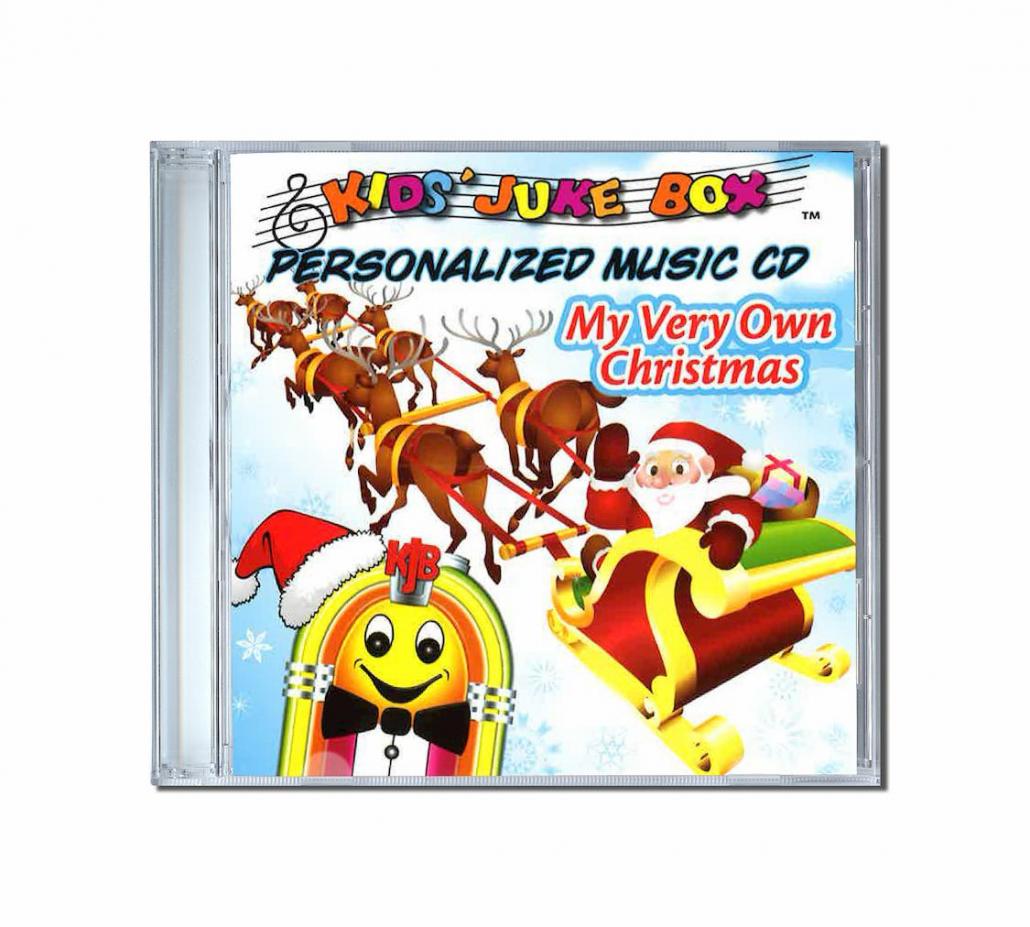 My very own Christmas album de chanson personnalisées en anglais