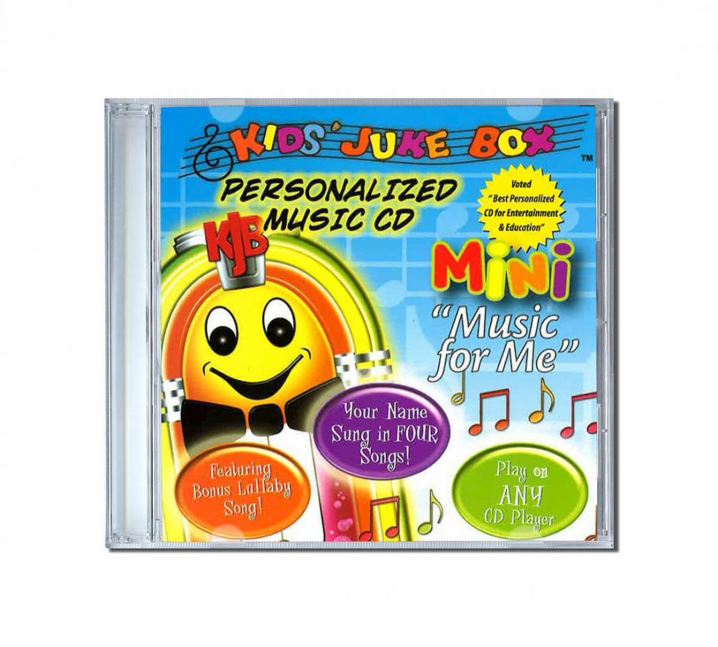 Album de chansons personnalisées en Anglais - mini album