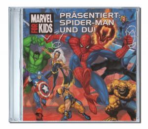 CD personnalisé pour enfant en allemand de Spiderman