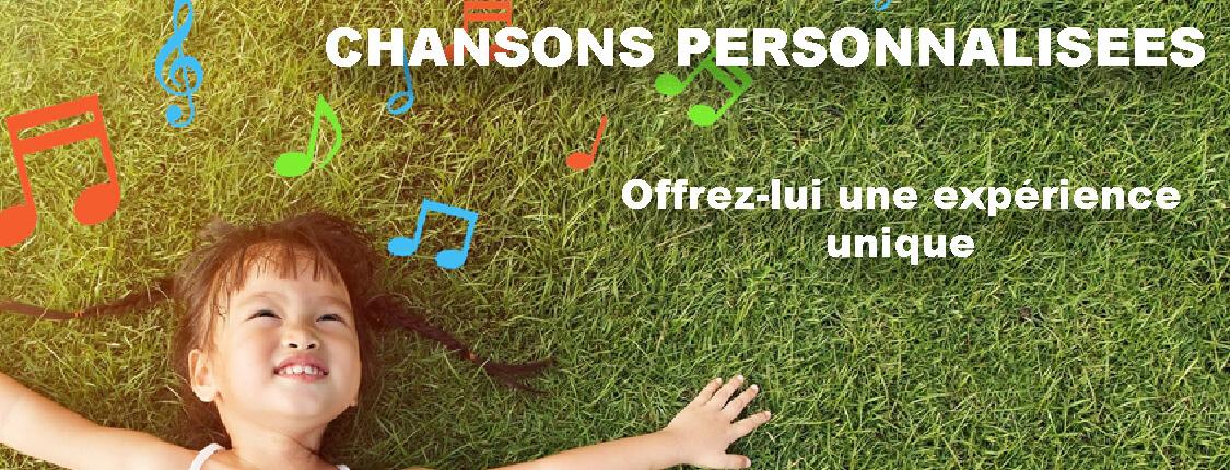 chanson personnalisée pour les enfants fait sur mesure