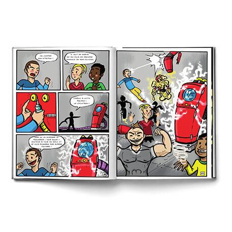 BD Super héros sur-mesure pour les garçons