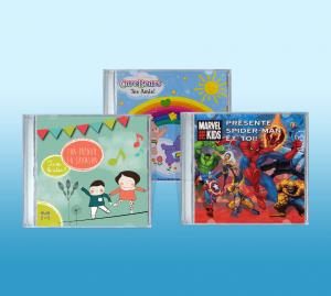 CD personnalisé au prénom de l'enfant pour un cadeau sur mesure