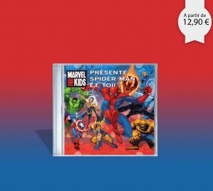 CD personnalisé de spiderman