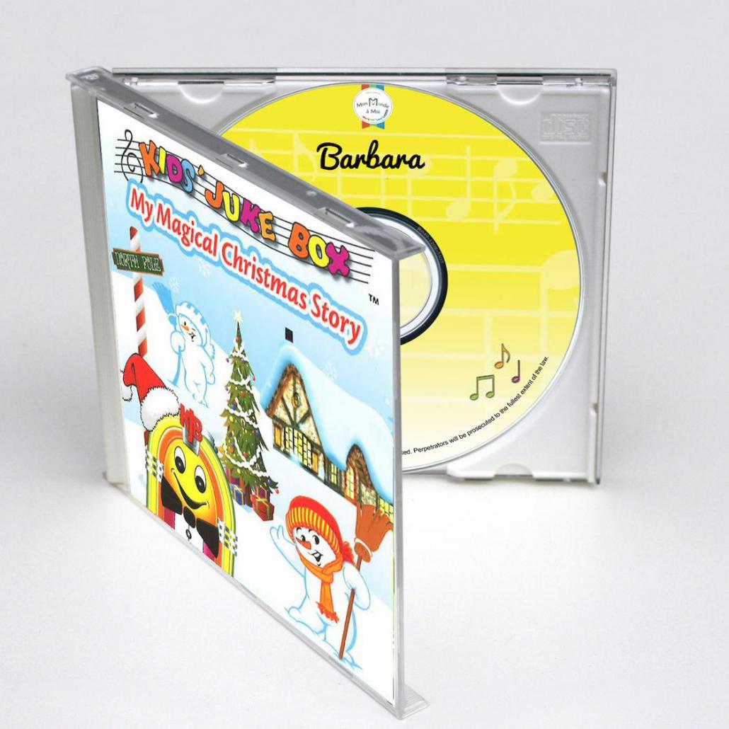 my magical christmas story avec 2 comptines de Noël en anglais