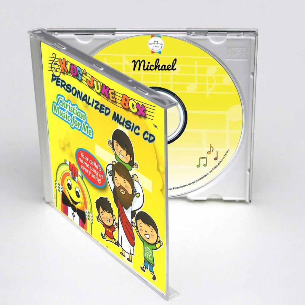 CD personnalisé en Anglais christian music for me