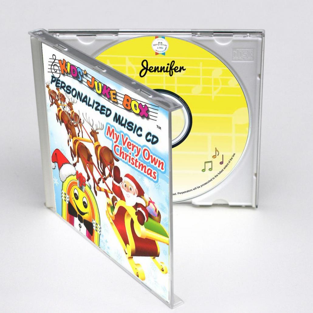 CD personnalisé en anglais pour Noël