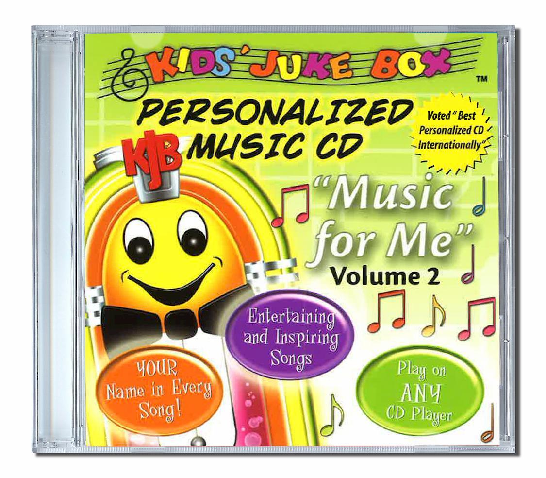 Music for me un album de chansons personnalisées prénom en anglais