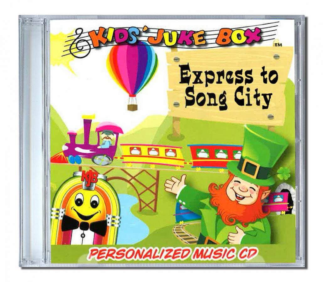 express to song city chanson personnalisée en anglais