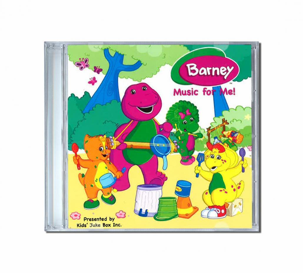 Chanson personnalisé Barney