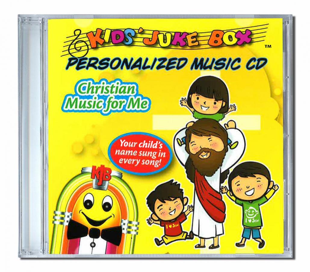 Christian music for me avec des chansons personnalisées en anglais