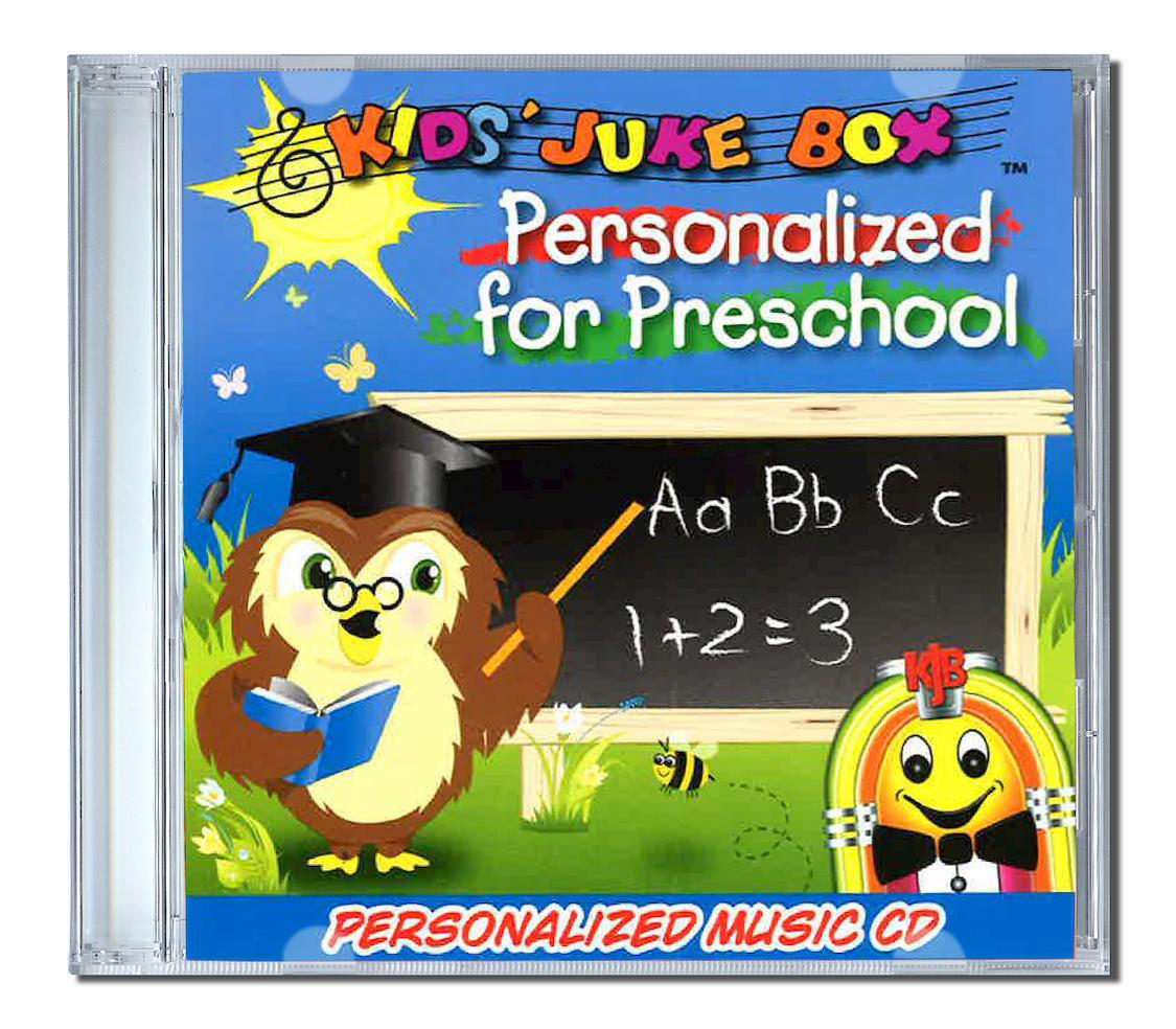 Personalised for preschool chansons personnalisées en anglais