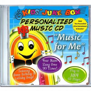 Music for me chanson personnalisé en Anglais