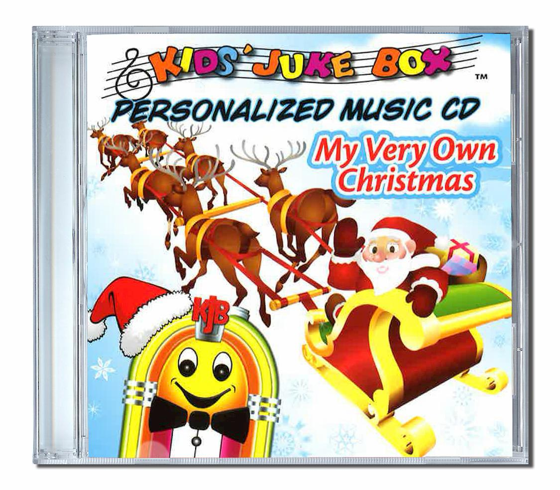 Album de chansons en anglais pour Noël my very own christmas