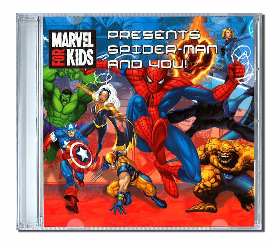 Spiderman and you un album de chansons personnalisées pour les enfants