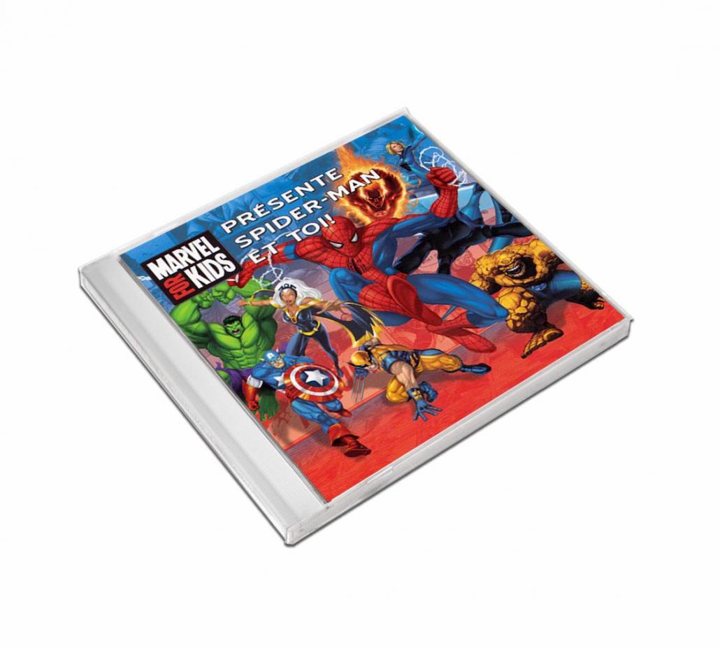 Chanson personnalisée avec prénom pour enfant Spiderman