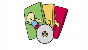 Choisissez votre dessin animé personnalisé avec la photo de l'enfant