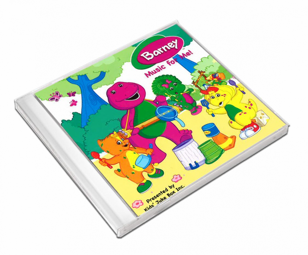 Barney comptine personnalisées en anglais