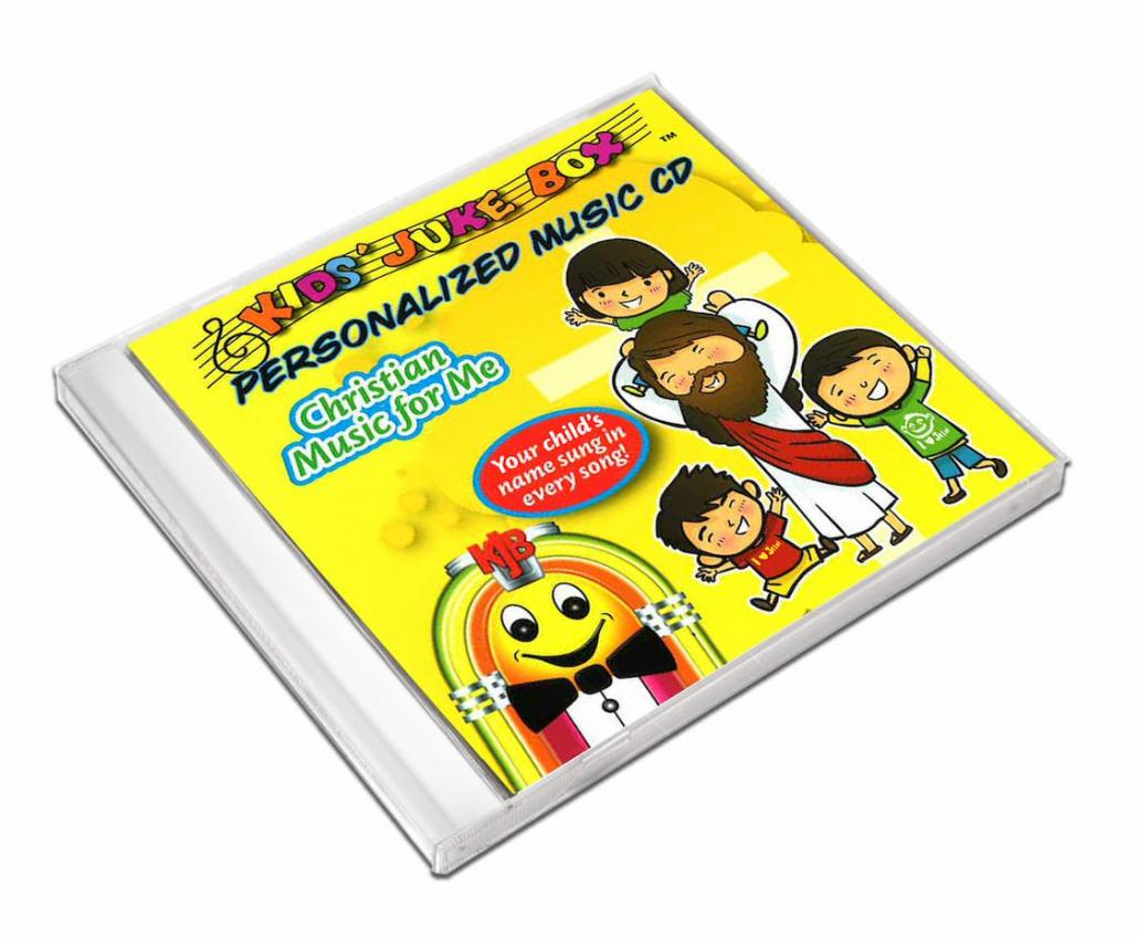CD personnalisé anglais Christian music for me