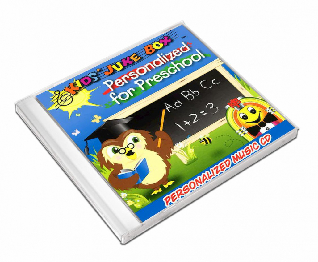 Comptine personnalisée Anglais Personalised for preschool