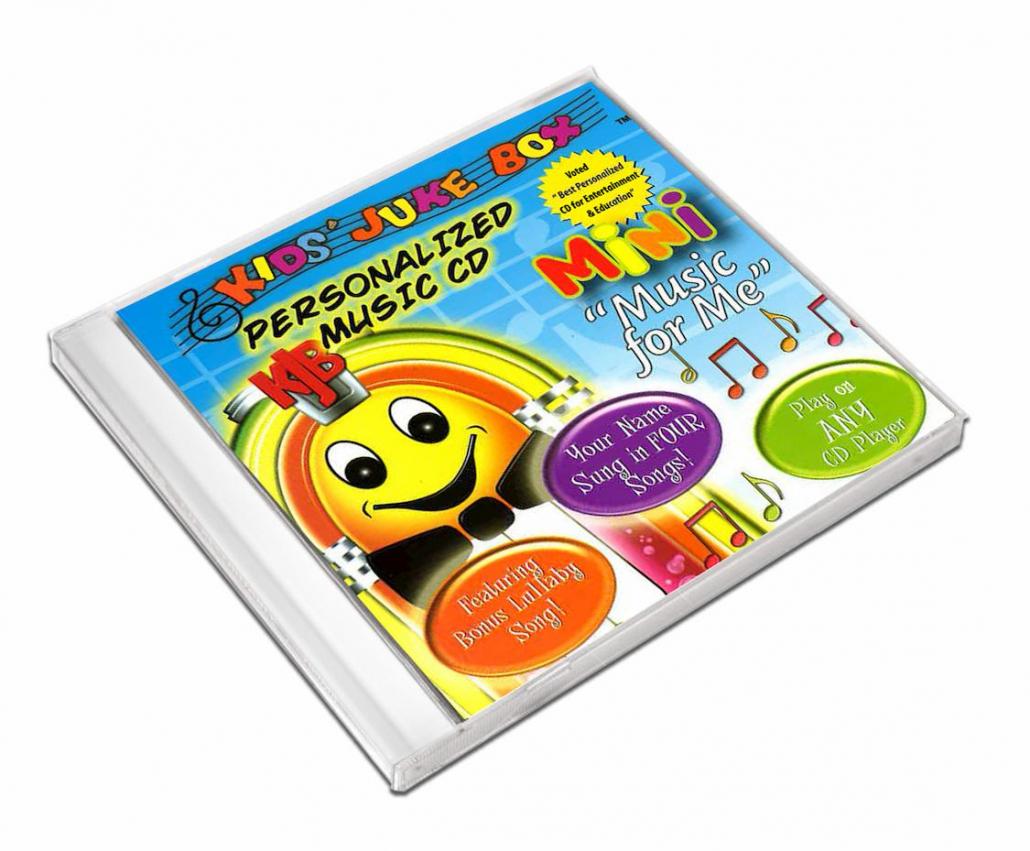 Mini album de comptine personnalisé en anglais