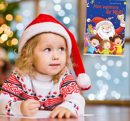 Conte personnalisé pour vivre la magie de Noël