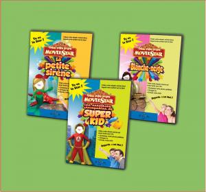 Dessin animé personnalisé pour les enfants avec photo et prénom