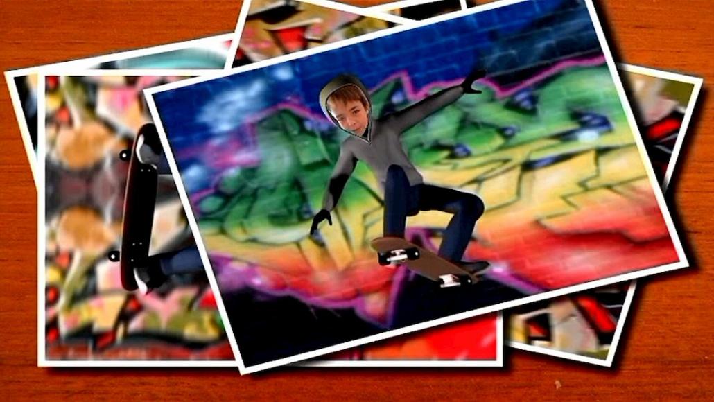Dessin animé personnalisé Turbo Kid avec photo et prénom