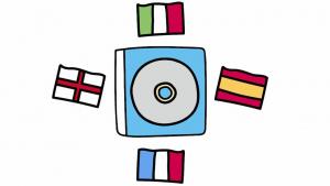 Des chansons personnalisées pour les enfant dans plusieurs langues