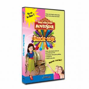 Blanche neige DVD personnalisé pour enfant avec photo