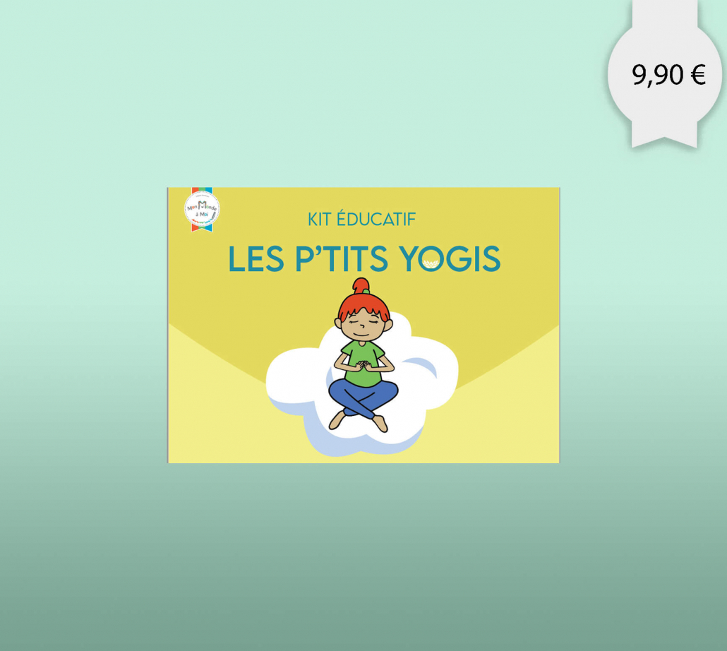 Un kit educatif sur le yoga pour les enfants