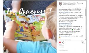 jeu concours livres personnalisé blog les tracas du quotidien