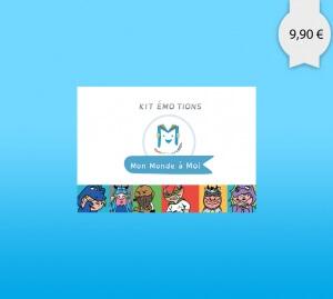 Kit avec jeux et activités pour aider les enfants à mieux gérer leur émotions